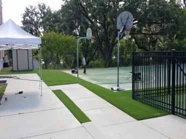 Artificial Grass Photos: Artificial Grass Carpet Cypress Gardens, Florida Sports Turf, Commercial Landscape
