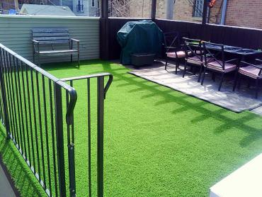 Artificial Grass Photos: Grass Installation Holmes Beach, Florida Backyard Deck Ideas, Backyard Landscaping Ideas