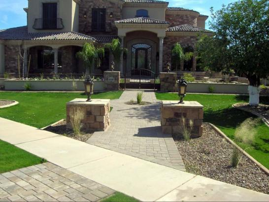 Artificial Grass Photos: Grass Turf Madeira Beach, Florida Landscape Photos, Small Front Yard Landscaping