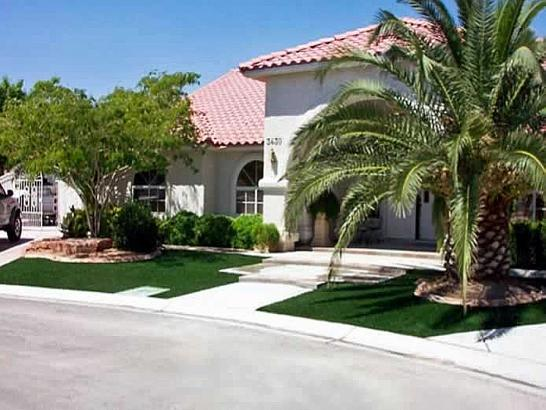 Artificial Grass Photos: Installing Artificial Grass Bee Ridge, Florida Paver Patio, Small Front Yard Landscaping