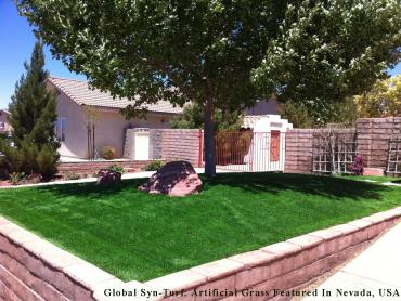Artificial Grass Photos: Installing Artificial Grass Riverview, Florida Landscape Photos, Front Yard Design