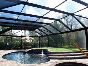Artificial Grass Photos: Synthetic Turf Fanning Springs, Florida Artificial Putting Greens, Pool Designs