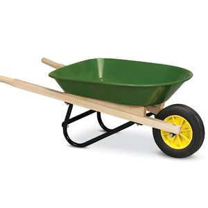 Artificial Grass Installation Wheelbarrow